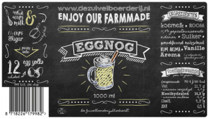 1000 ml Eggnog